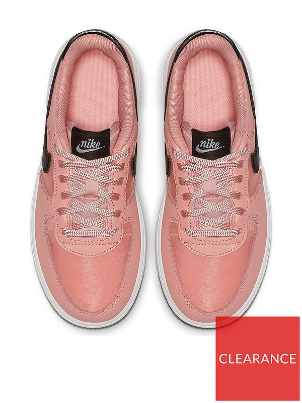 Air Force 1 18 Valentines Day Childrens Trainers PinkBlack