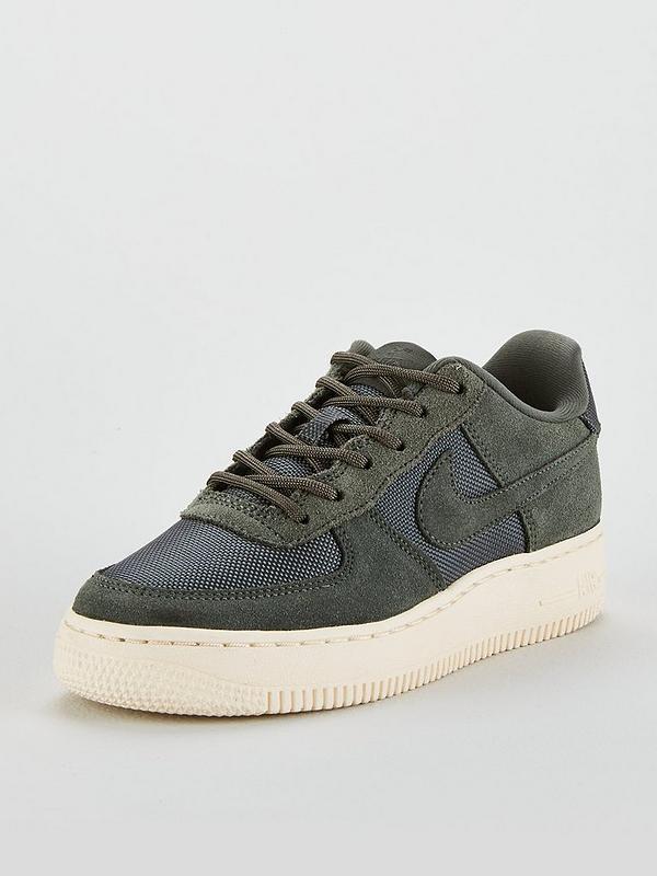 huge discount 22ca9 73f44 Nike Air Force 1 1 Junior Trainer