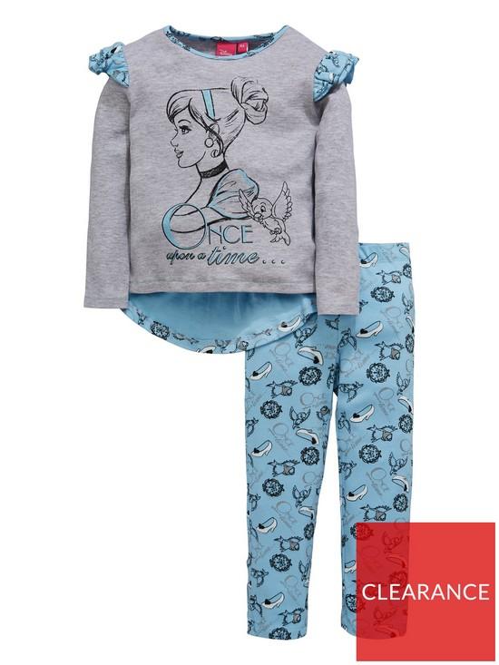 95286cbd498a Disney Princess Girls Disney Princess Cinderella Pyjamas
