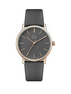 jack-wills-jack-wills-grey-and-rose-gold-detail-dial-grey-leather-strap-ladies-watch