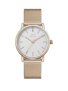 jack-wills-jack-wills-white-and-rose-gold-detail-dial-rose-gold-stainless-steel-mesh-strap-ladies-watch