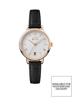 jack-wills-jack-wills-white-and-gold-detail-date-dial-black-leather-strap-ladies-watch