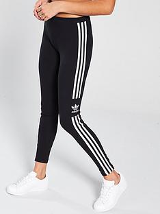 adidas-originals-3-stripe-trefoil-leggingsnbsp--black
