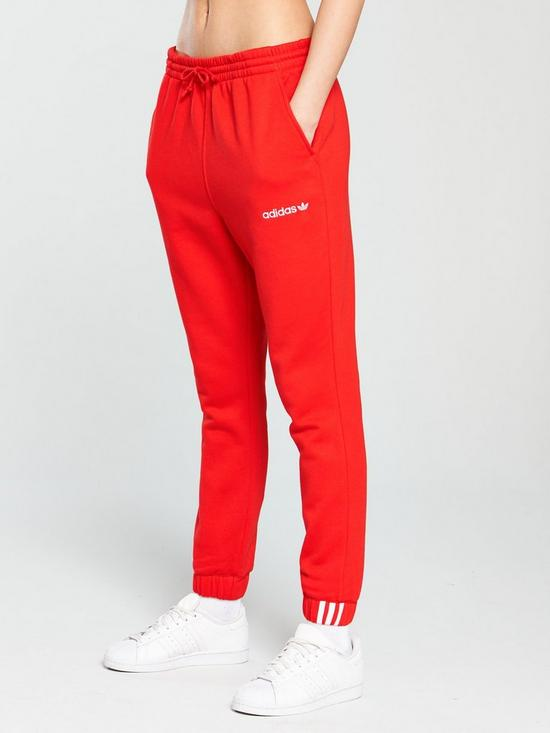 release date: 9addf 05ab9 adidas Originals Coeeze Pant - Red   very.co.uk