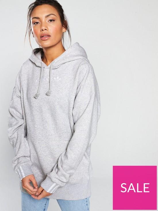 e4818c70 adidas Originals Coeeze Hoodie - Grey | very.co.uk