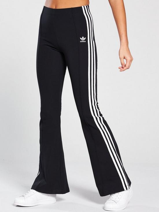 156e8dfb3 adidas Originals Flared Pant - Black | very.co.uk