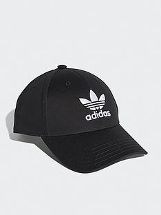 cf3621ca1a590 adidas Originals Classic Trefoil Cap - Black