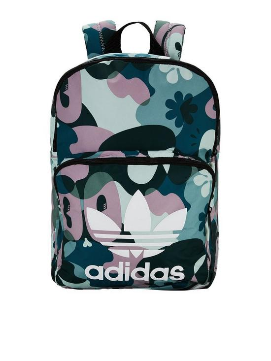 9524b8f02c adidas Originals Classic Print Backpack - Multi