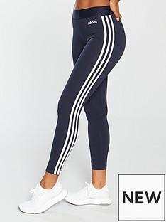 adidas-essentials-3-stripe-tight-navynbsp