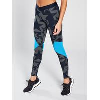 57aa411053118c adidas Alphaskin Sport Stella McCartney Inspired Star Tight - Navy |  very.co.uk