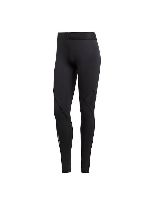 order lace up in on feet shots of Alphaskin Sport Tight - Black