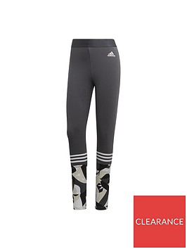 adidas-print-tight-dark-greynbsp