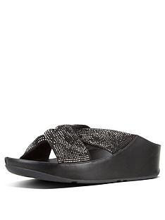 fitflop-twiss-crystal-flat-sandal