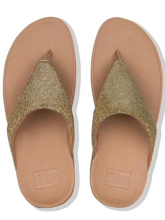 770e7065f ... FitFlop Lottie Glitzy Toe Thong Platform Flip Flop Shoes - Gold. 8  people have looked at this in the last couple of hrs.