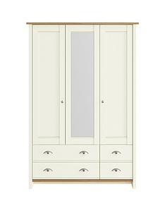 consort-tivolinbsp3-door-4-drawer-mirrored-wardrobe