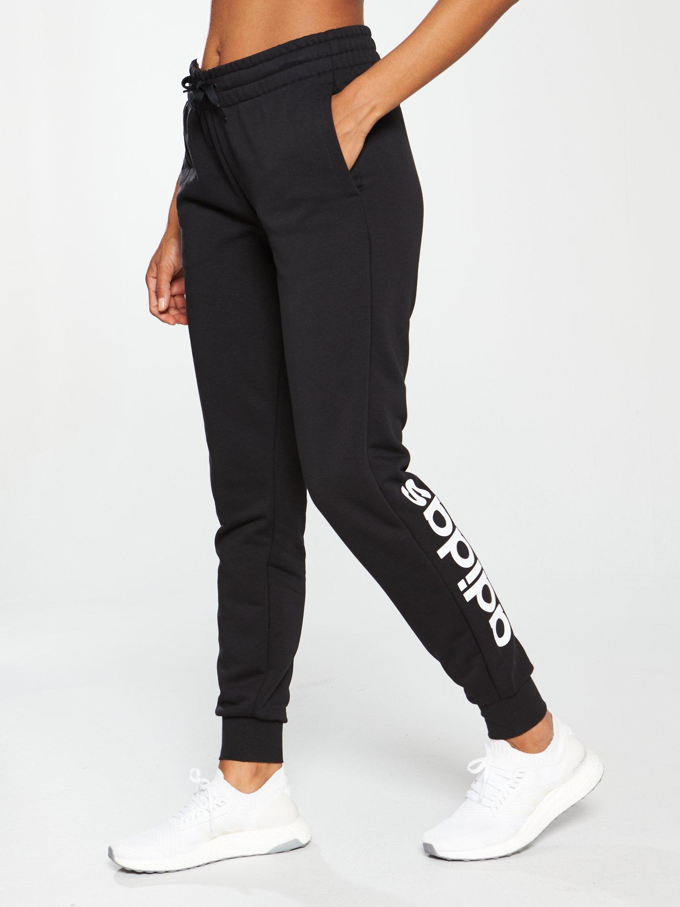 adidas slim fit joggers womens