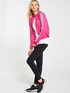 2a39924fedfc07 adidas Hoodie   Tight Tracksuit - Black Pink