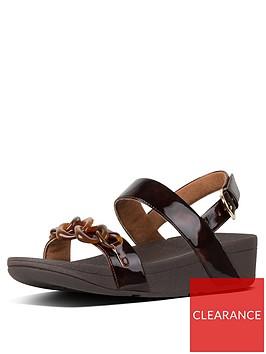 fitflop-fitflop-lottie-tortoiseshell-chain-flat-sandal