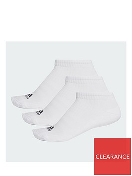 adidas-3-stripe-performance-no-show-sock-3-pack-whitenbsp