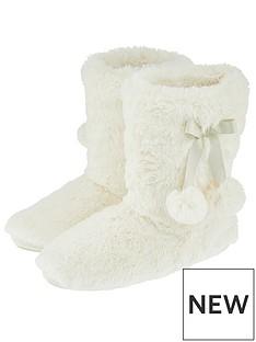 accessorize-supersoft-slipper-boot-cream