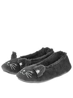 accessorize-kitty-cat-ballerina-slipper-grey