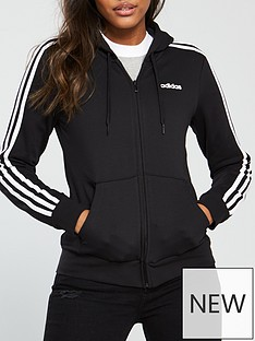 adidas-essentials-3-stripe-full-zip-hoodienbsp--blacknbsp