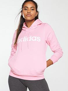 d65ad252f654 adidas Linear Hoodie - Pink