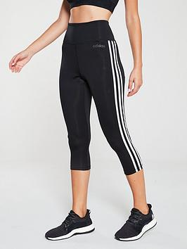 adidas-d2m-high-rise-34-tonal-3-stripe-leggingsnbsp--black