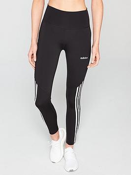 adidas-d2mnbsphigh-rise-78-3-stripe-tight-blacknbsp