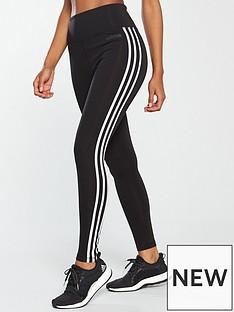 adidas-d2mnbsphigh-rise-3-stripe-tight-blacknbsp