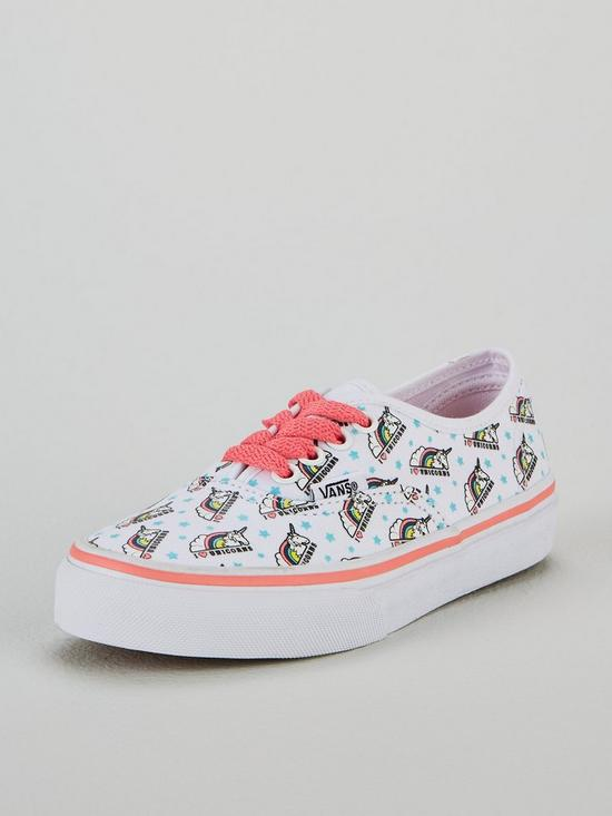 edd60125f0 Vans Authentic Unicorn Junior Trainer