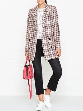 gestuz-obia-check-blazer-pinkred