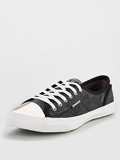 98fa52106cb Superdry Low Pro Luxe Plimsoll
