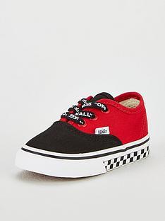purchase cheap 43327 57358 Vans Authentic Infant Trainer