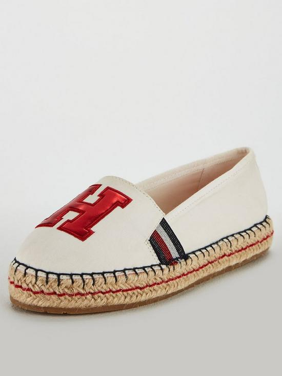 9cfc6c08 Tommy Hilfiger TH Patch Espadrille | very.co.uk