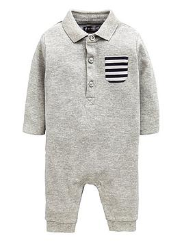 mini-v-by-very-baby-polo-shirt-romper-suit-grey