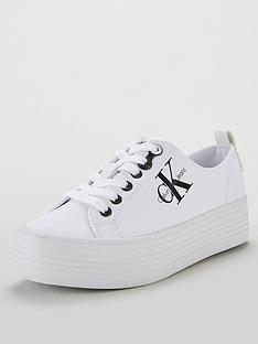 calvin-klein-jeans-ck-jeans-zolah-canvas-plimsoll-whitenbsp