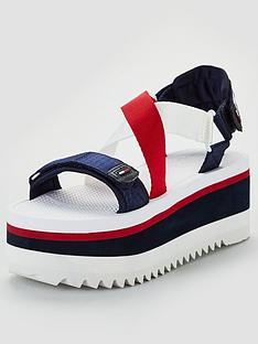 tommy-hilfiger-neoprene-sporty-flatform-sandals-multi