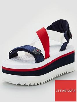 tommy-hilfiger-neoprene-sporty-flatform-sandals-multi