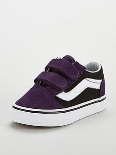 vans-old-skool-velcro-infant-trainer