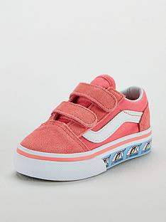 818128a5b7 Vans Vans Old Skool Velcro Unicorn Infant Trainer