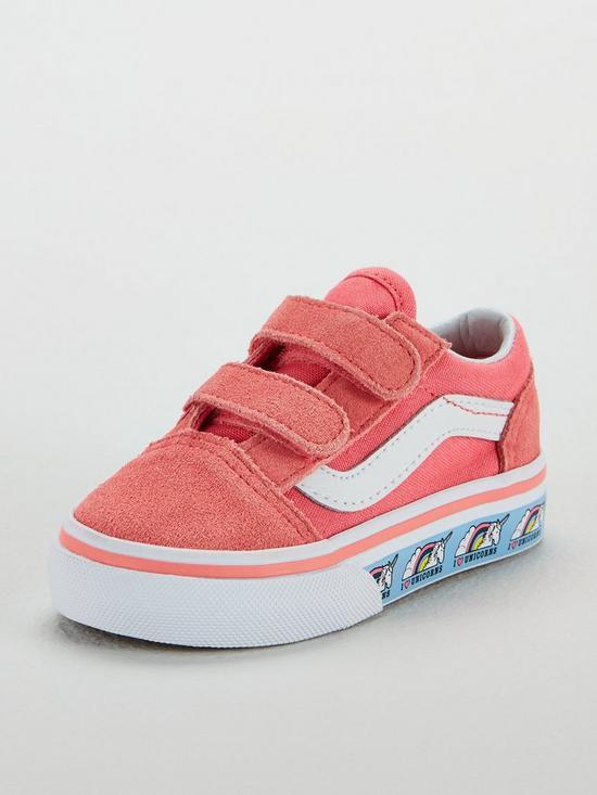 3440b479e2 Vans Vans Old Skool Velcro Unicorn Infant Trainer | very.co.uk