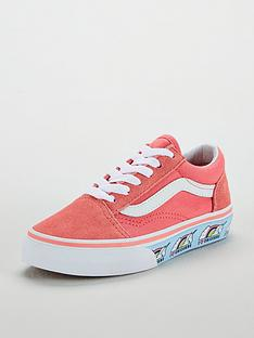 24e570af308b Vans Old Skool Unicorn Junior Trainer
