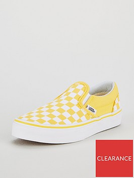 vans-vans-checkerboard-classic-slip-on-junior-trainer