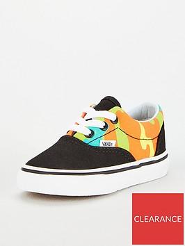 vans-era-colour-pop-camo-infant-trainers-yellowblack