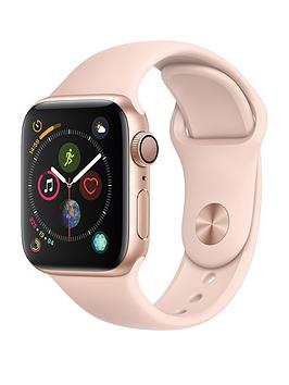 Apple Watch Series 4 (Gps), 40Mm Gold Aluminium Case With Pink Sand Sport Band cheapest retail price