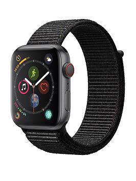 Compare prices with Phone Retailers Comaprison to buy a Apple Watch Series 4 (Gps + Cellular), 44Mm Space Grey Aluminium Case With Black Sport Loop