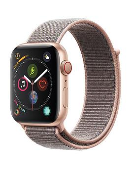 Apple Watch Series 4 (Gps + Cellular), 44Mm Gold Aluminium Case With Pink Sand Sport Loop cheapest retail price
