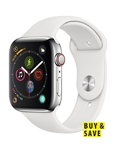 apple-watch-series-4-gps-cellular-44mm-stainless-steel-case-with-white-sport-band