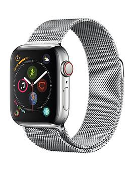Compare prices with Phone Retailers Comaprison to buy a Apple Watch Series 4 (Gps + Cellular), 40Mm Stainless Steel Case With Milanese Loop
